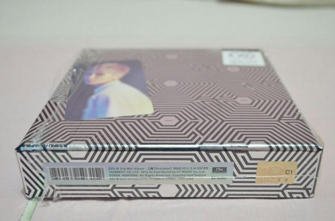 EXO-M 2nd Mini Album - Overdose