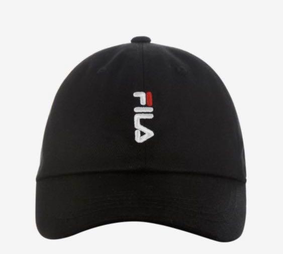 Fila Veritcal Linear Logo Cap