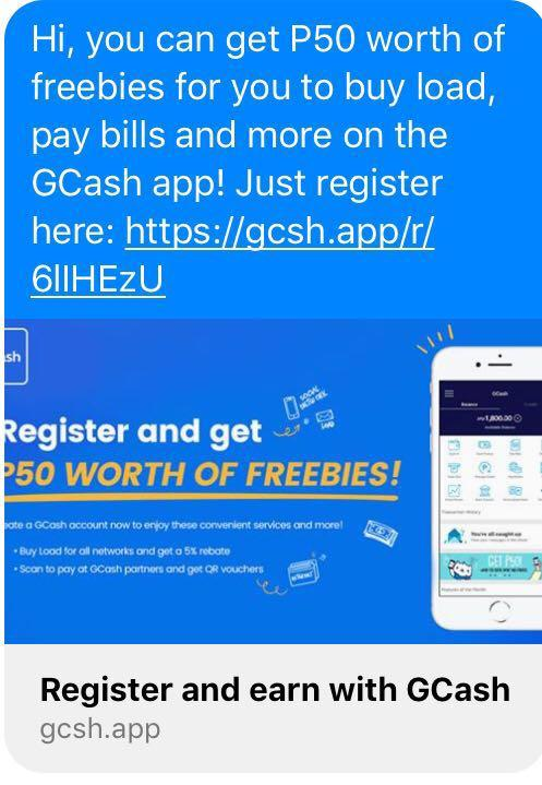 Get upto Php2 5k from GCASH on Carousell