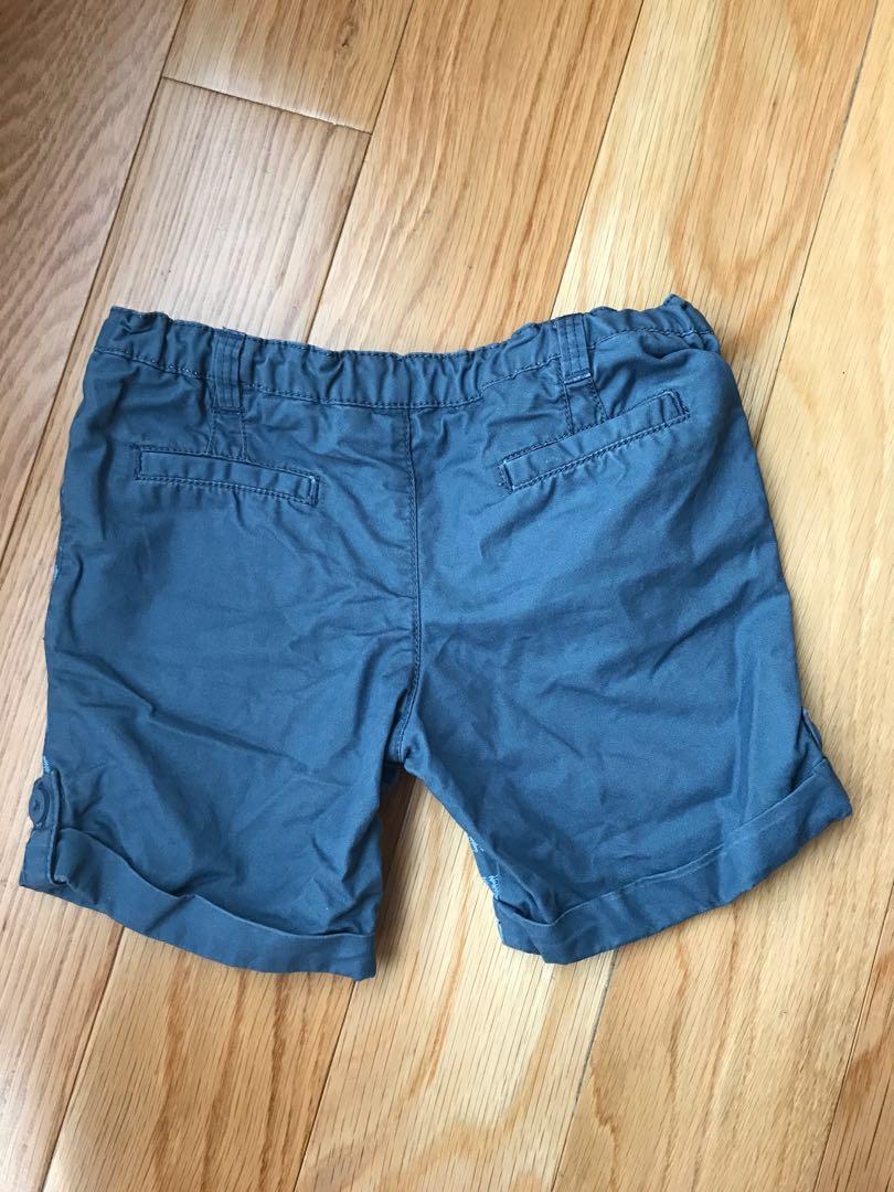 Gingersnaps Blue Stripes Shorts
