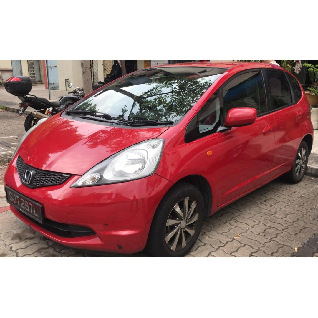 HONDA FIT CAR RENTAL @JJGARAGE