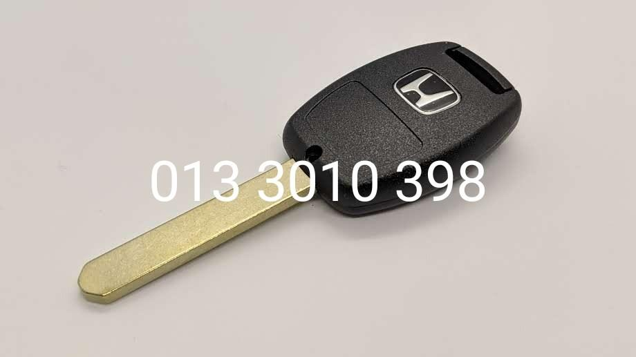 Honda Key Replacement 2 Buttons Civic Jazz Accord CRV With Emblem