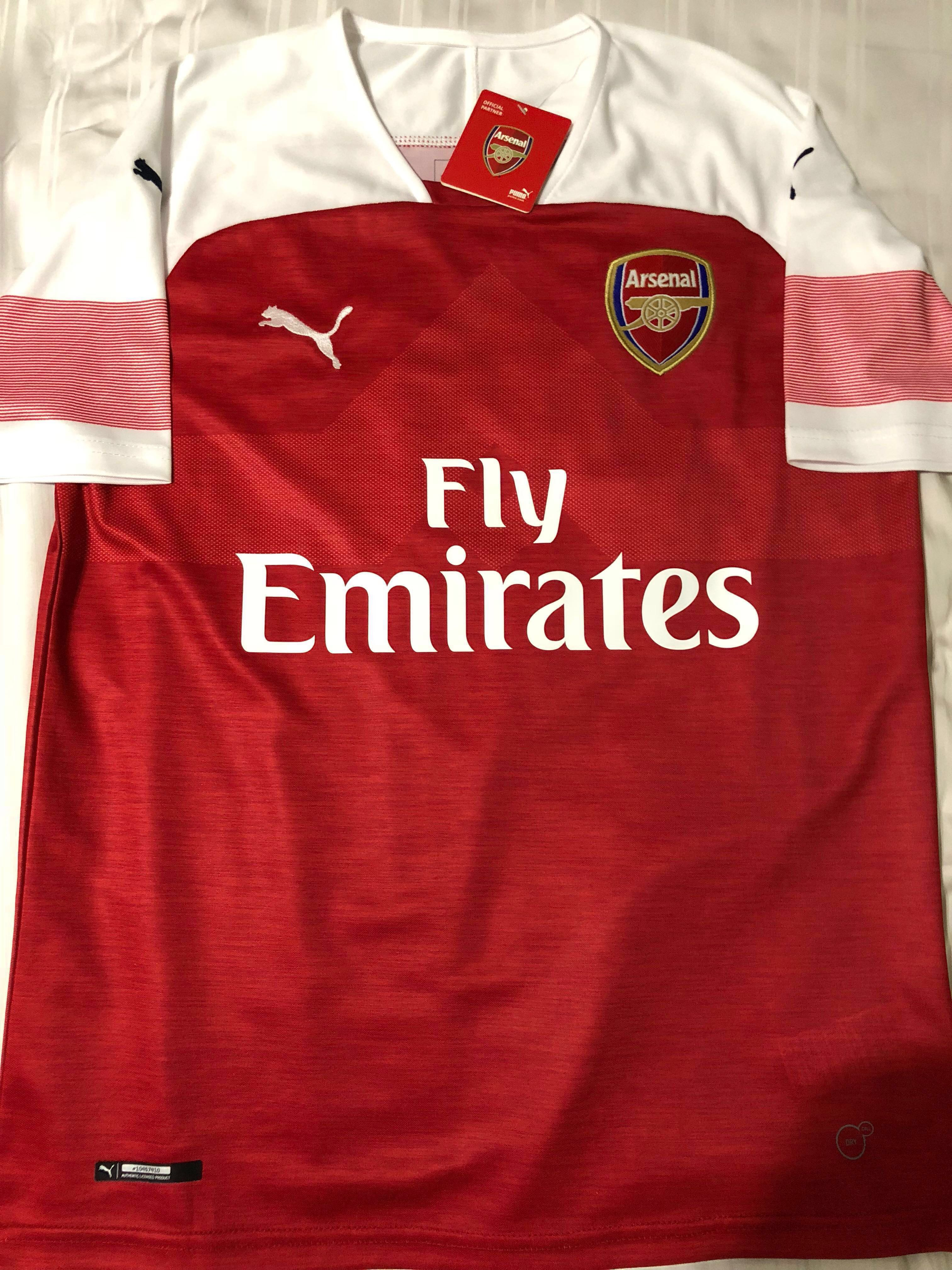 769d9fd7f6a In stock. Arsenal 2018 home jersey Mkhitaryan