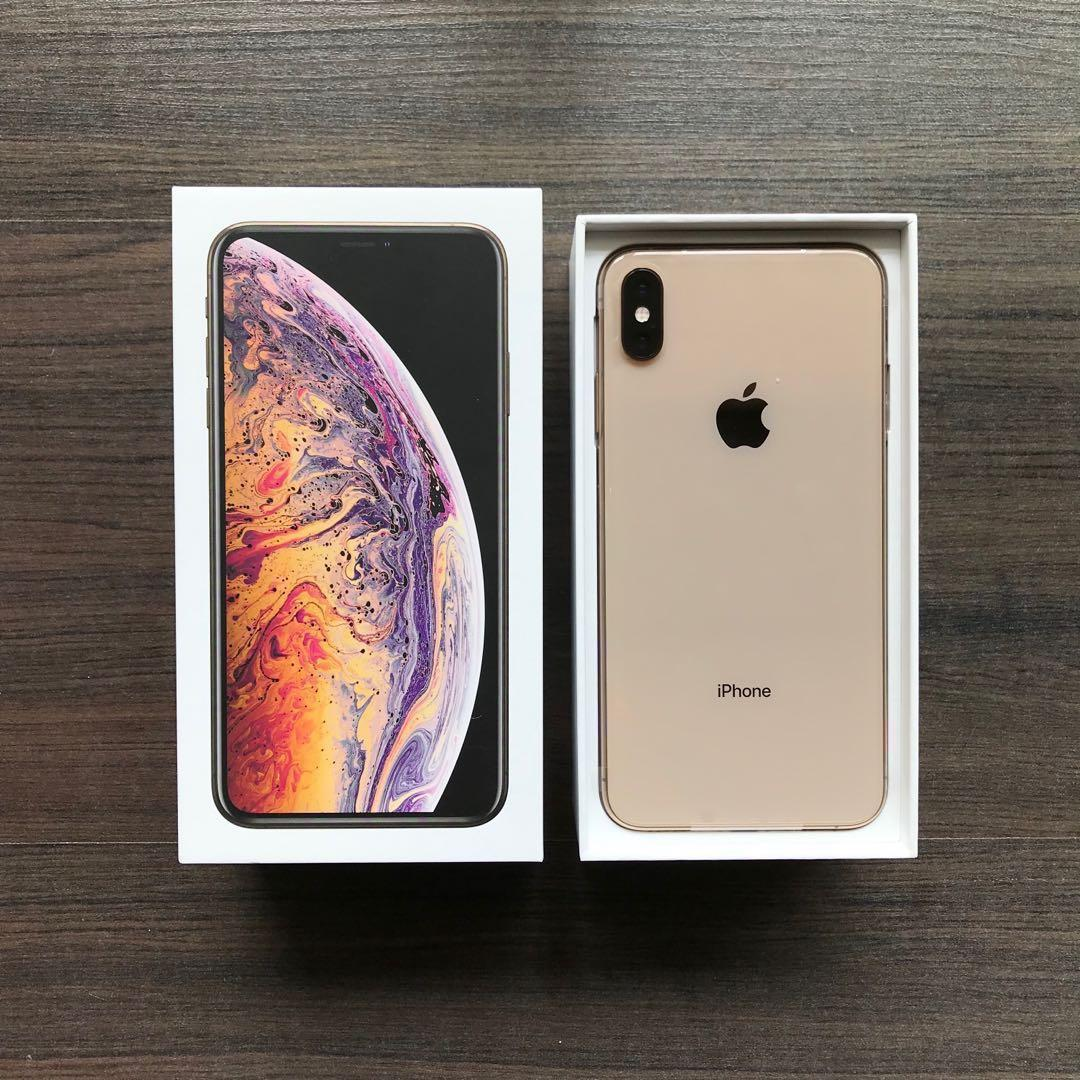 Iphone Xs Max Gold 256gb Mobile Phones Tablets Iphone