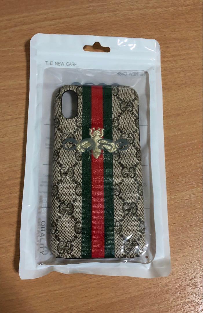 premium selection 2beb5 d524e iPhone X/XS Gucci 🐝 Case