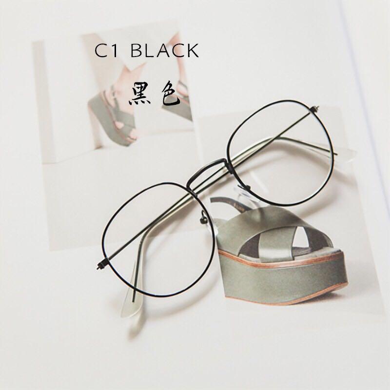 Kacamata retro lensa (free ongkir)
