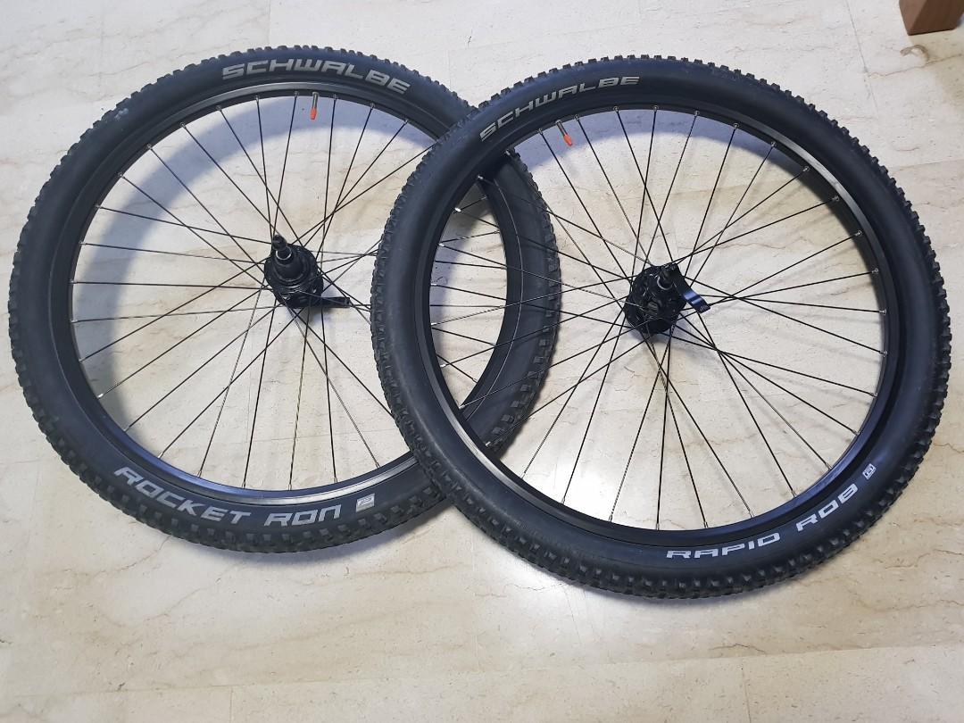 Koozer mountain bike wheelset