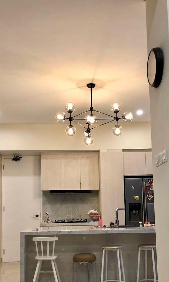 Lampu Kitchen Island Meja Makan Home Furniture On