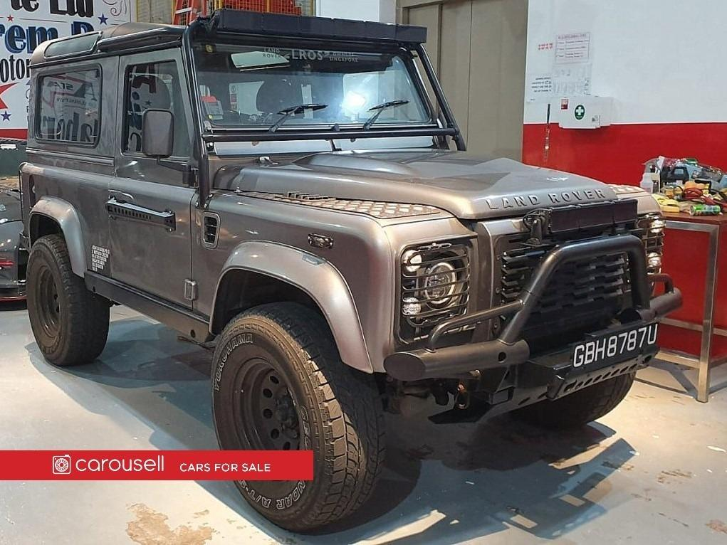 Land Rover DEFENDER 90 2.4L PUMA