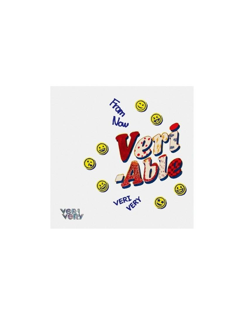[Limited Edition] VERIVERY 2nd Mini Album - VERI-ABLE (DIY Ver)