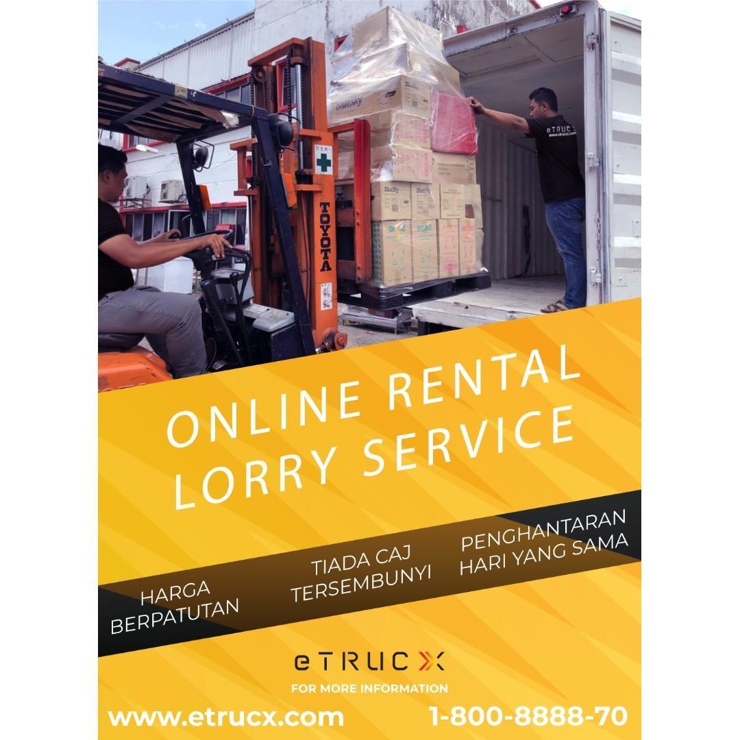Lori Sewa, Lorry Rental, Pindah Rumah, House Moving Harga Rendah!