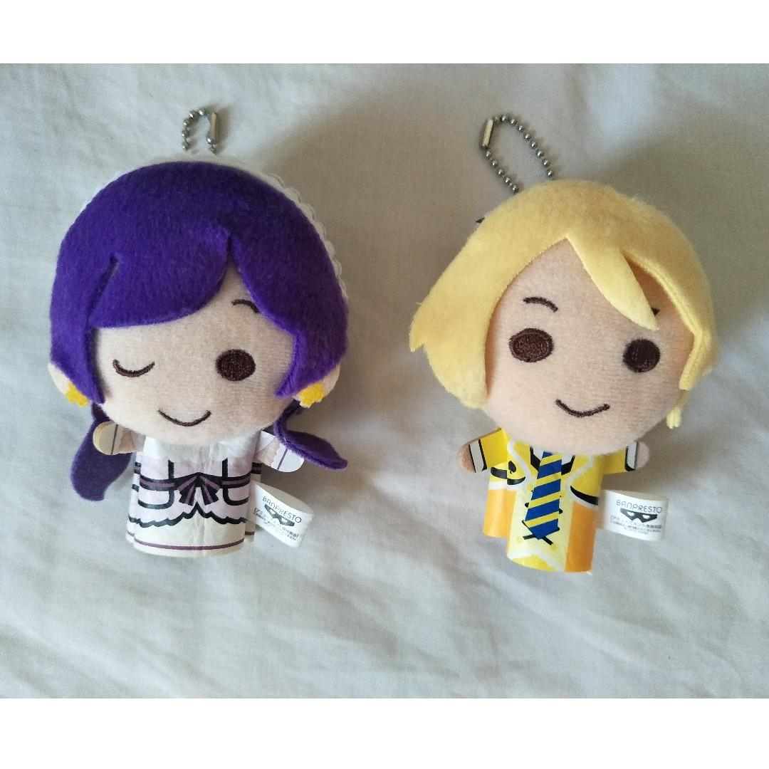 Love Live! Muse Eli Ayase Nozomi Toujou finger puppets