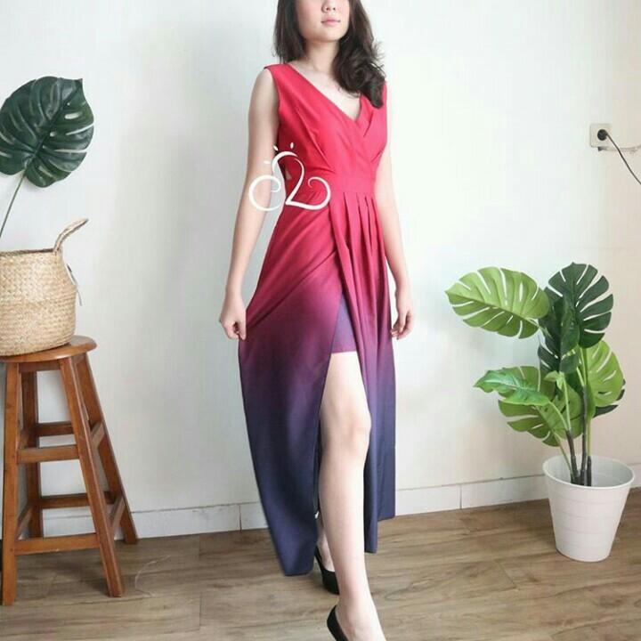 lullaby maxi dress
