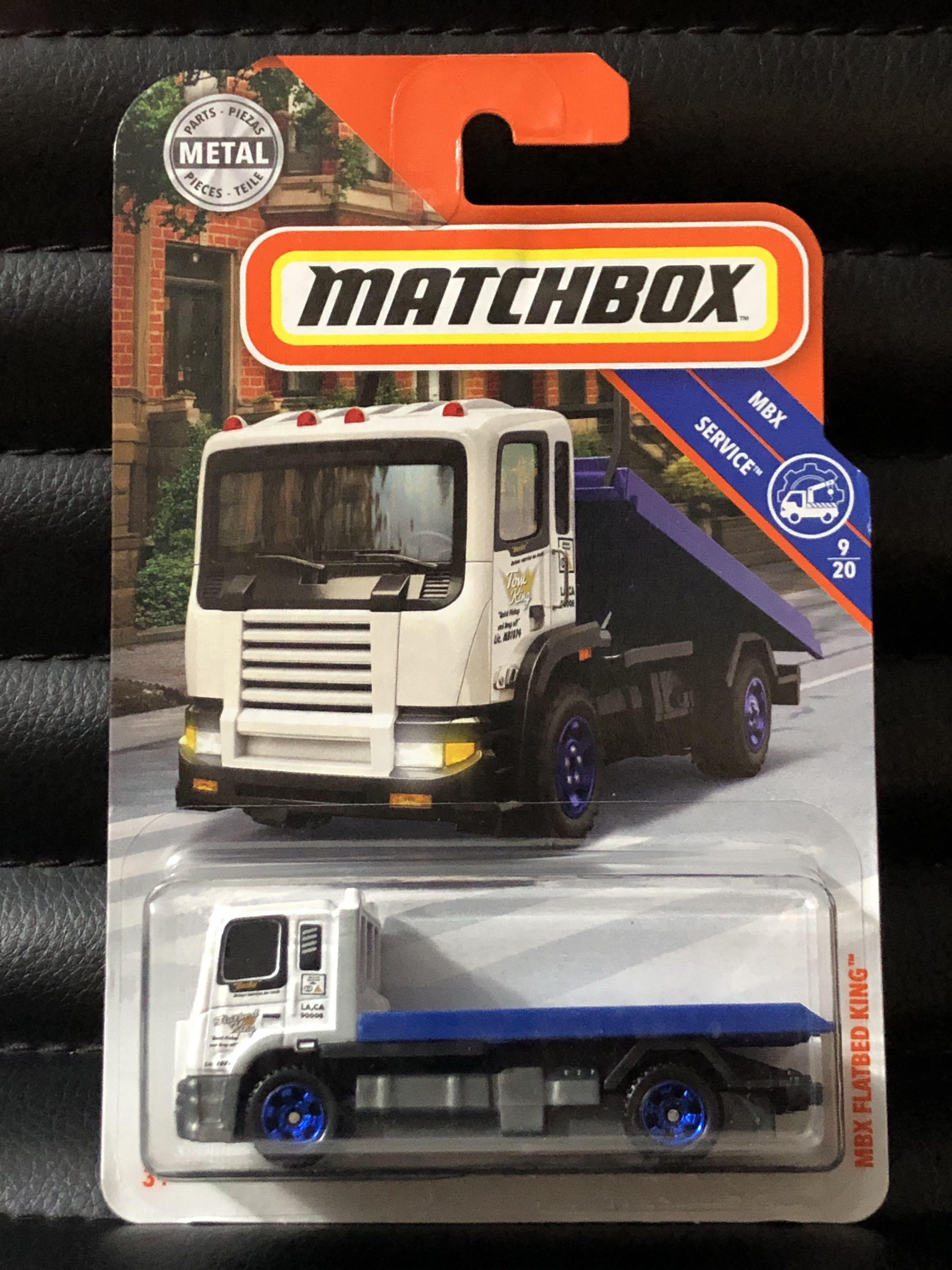 Matchbox Mbx Services Flatbed Truck Kings Toys Games Bricks Figurines On Carousell