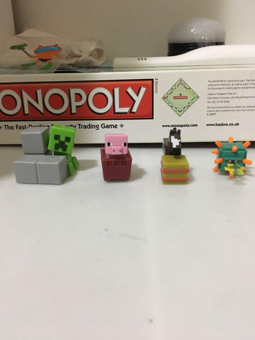 MINECRAFT mini figures, Toys & Games, Others on Carousell