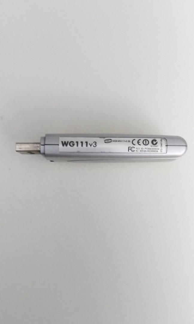 Netgear USB Wifi WG111v3
