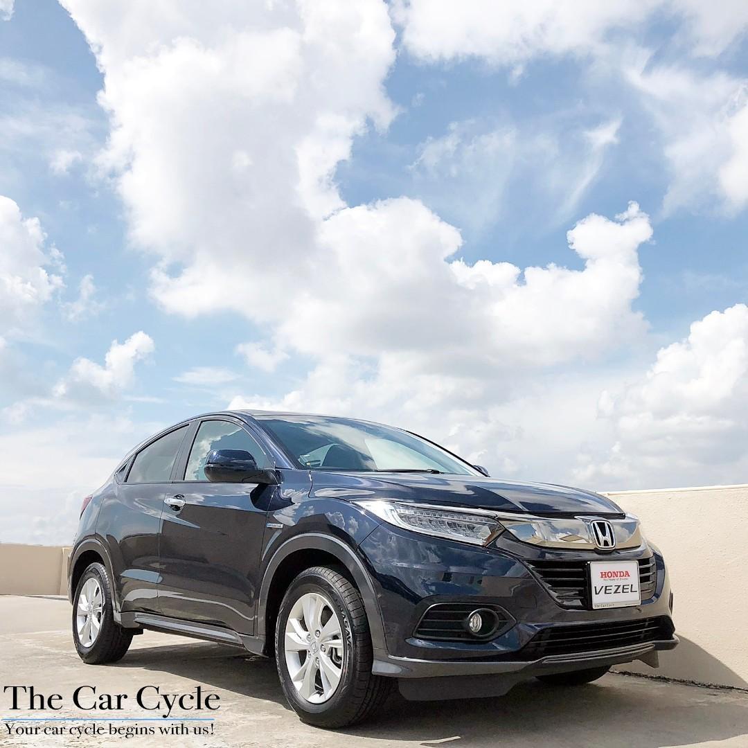 Honda Vezel Hybrid Sensing