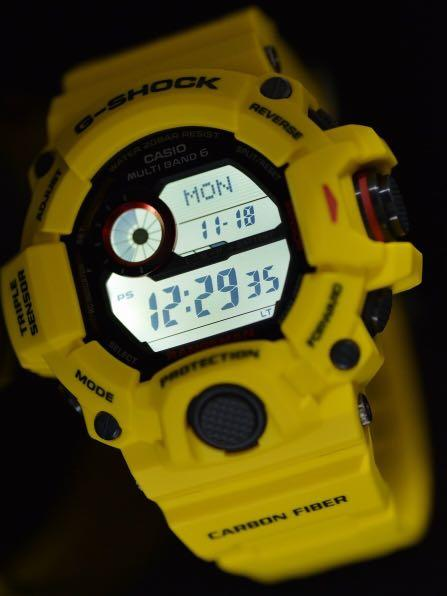 New Authentic Casio G-Shock Lighting Yellow Rangeman GW-9430E-9 30th Anniversary Watch limited edition