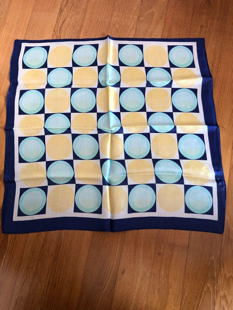New Silk Scarf - Lovely pattern - MOVING SALE