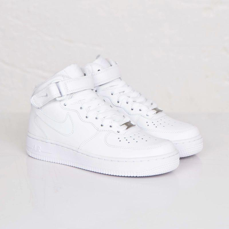 Nike Air Force 1 Mid' 07, Women's Fashion, Shoes, Sneakers ...