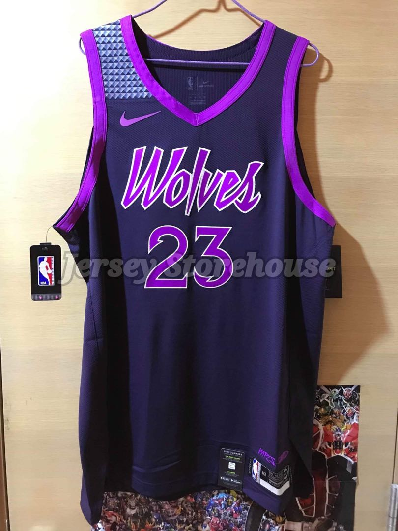 meet ce944 df1e3 Nike NBA Jimmy Butler Minnesota Timberwolves City edition Authentic Jersey  落場版 球衣 波衫