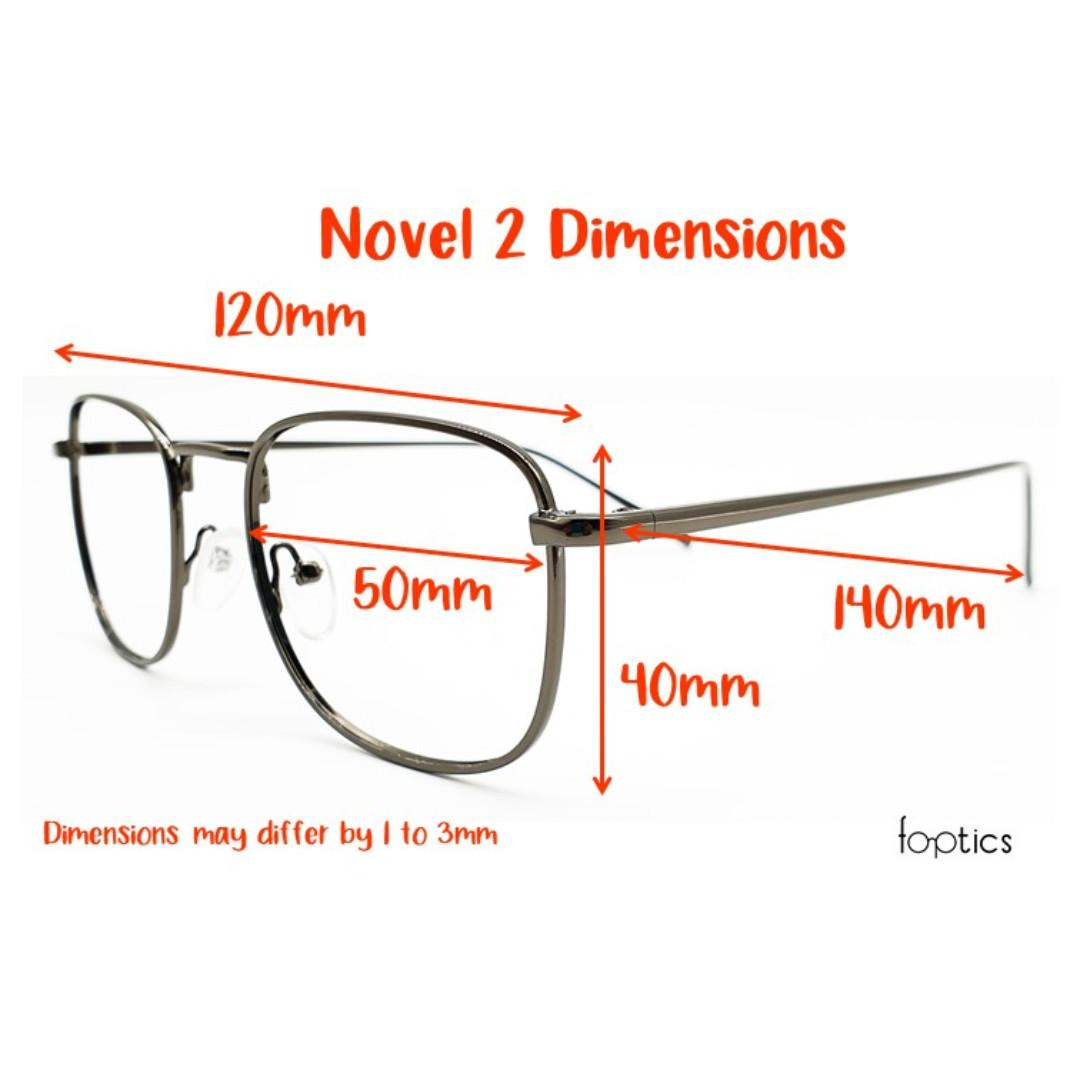 Novel 2 in Silver - foptics Eyewear - Prescription Glasses in Singapore