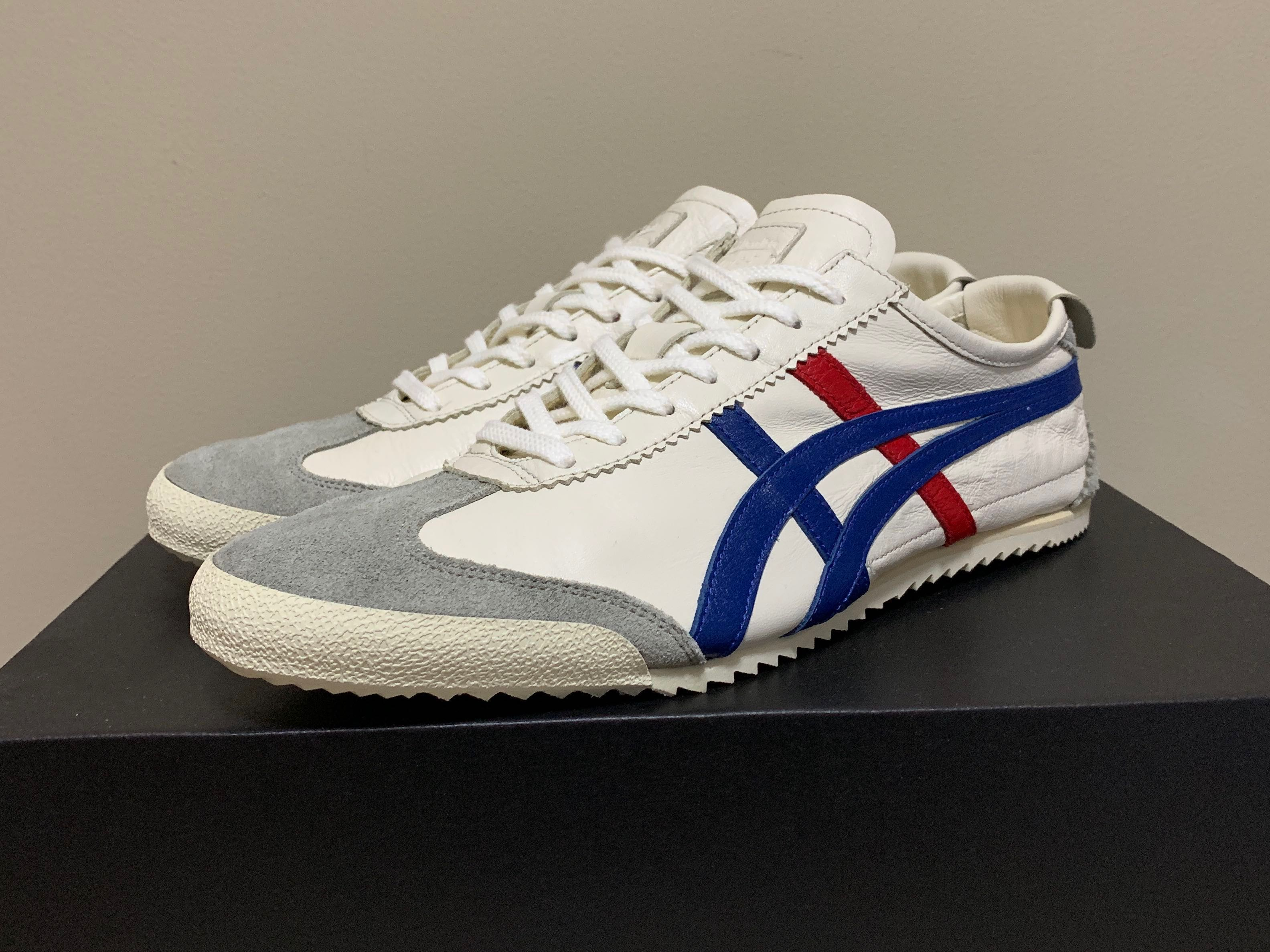 huge discount 3afe7 ab4bd Onitsuka Tiger Mexico 66 Deluxe - White, Men s Fashion, Footwear, Sneakers  on Carousell