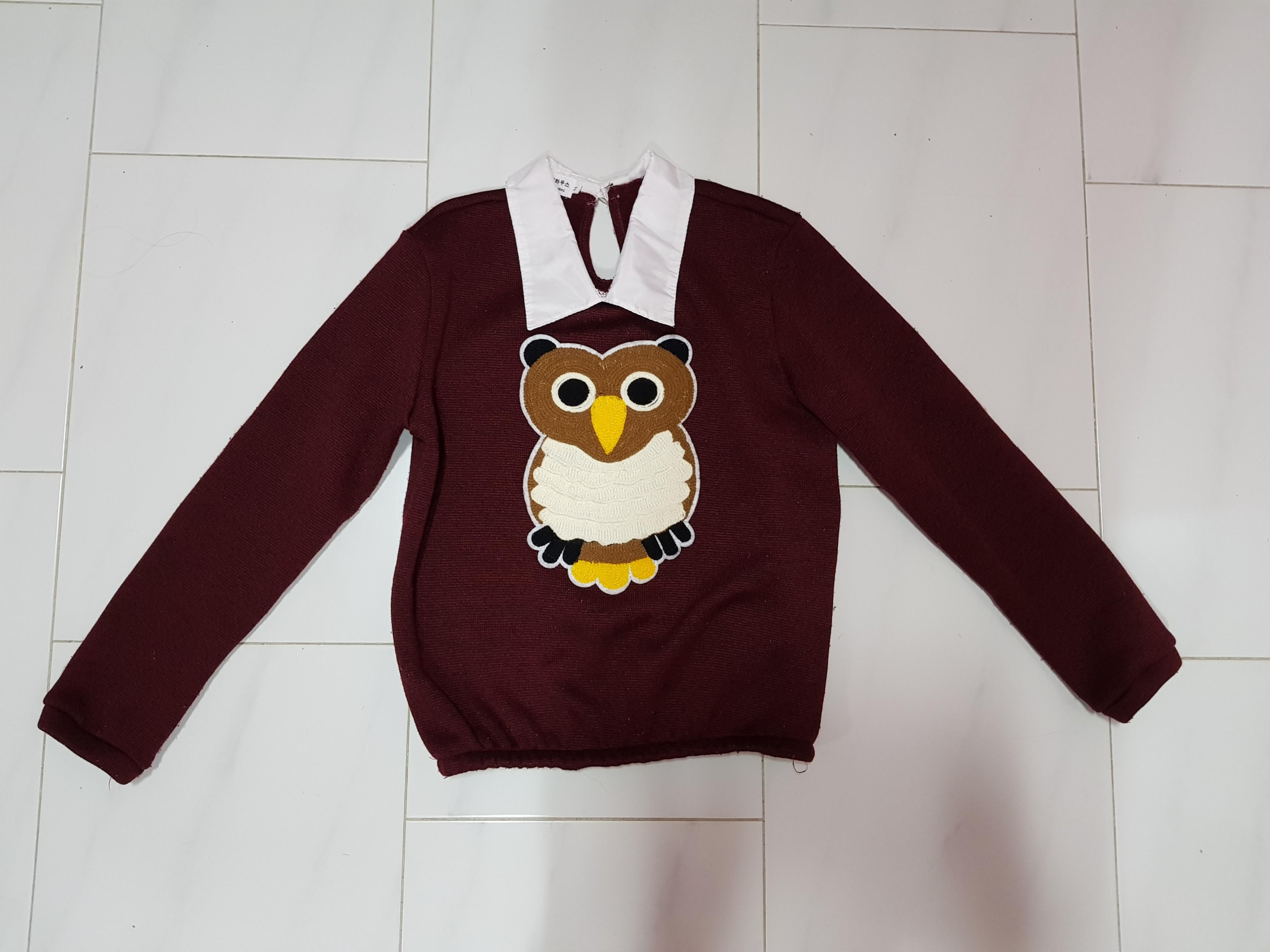 Owl Pullover / Top