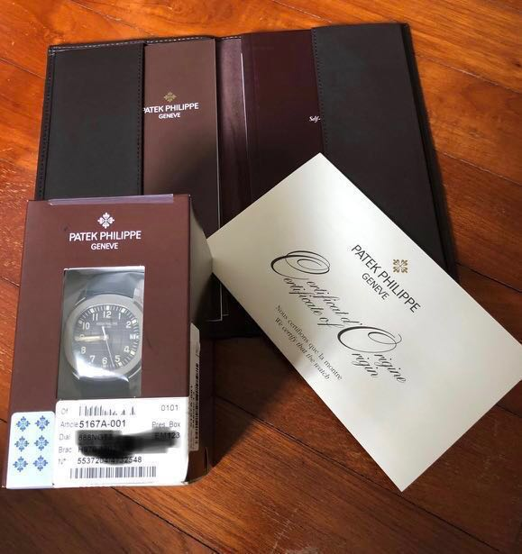 b3da3fb8ab3 Patek Philippe aquanaut 5167A-001, Luxury, Watches on Carousell