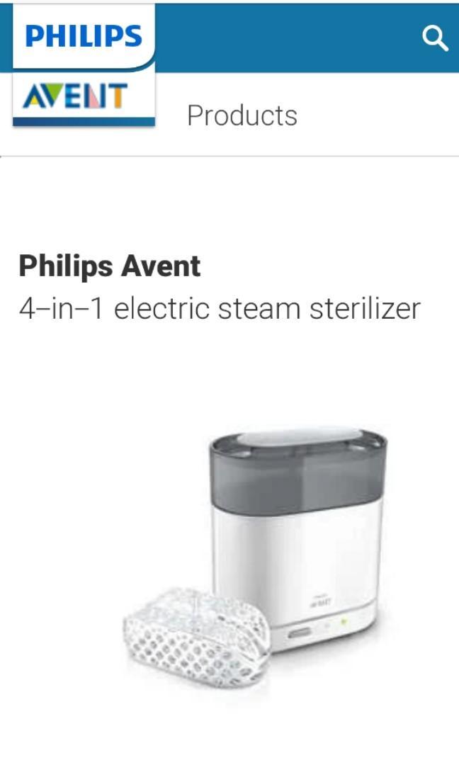 Philips Avent 4-in-1 Sterilizer