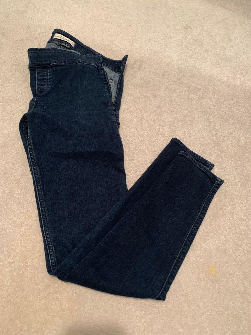 PRICE DROP Hollister side zip stretch skinny jeans