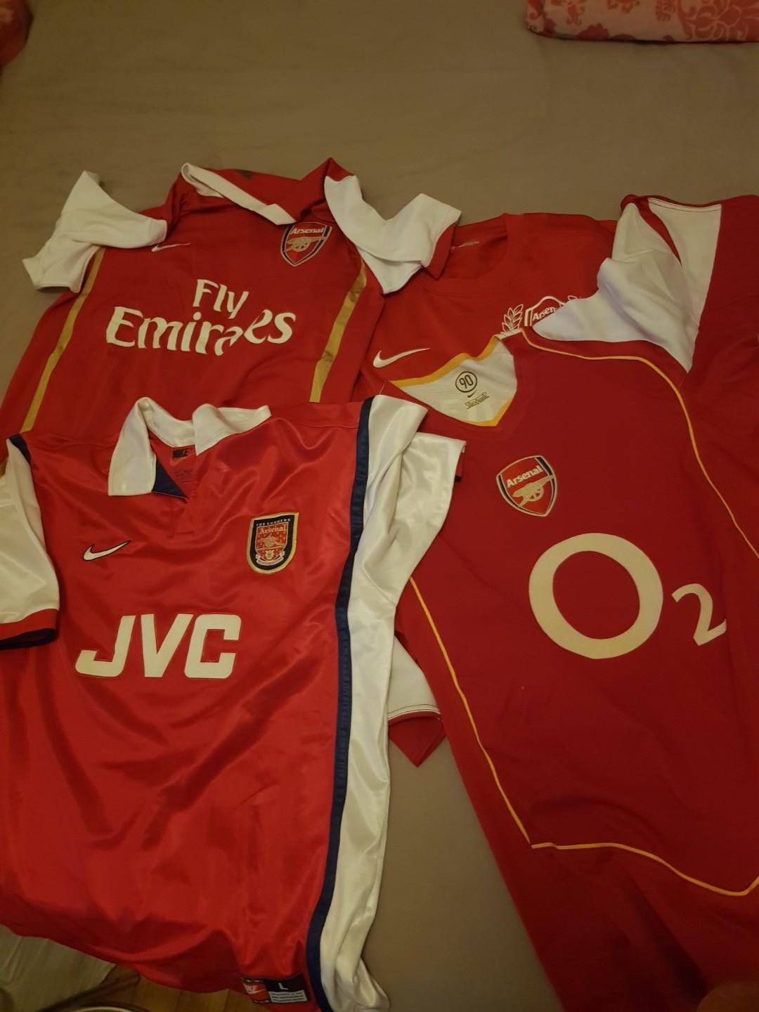 online store 1b763 7c7e8 Retro Arsenal Jersey thierry henry time, Sports, Sports ...