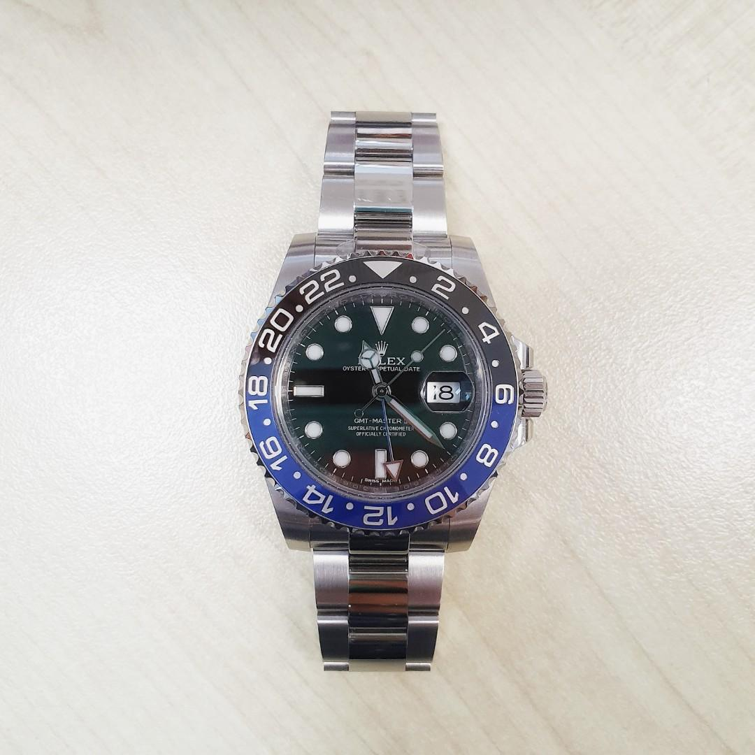 Rolex Batman GMT II