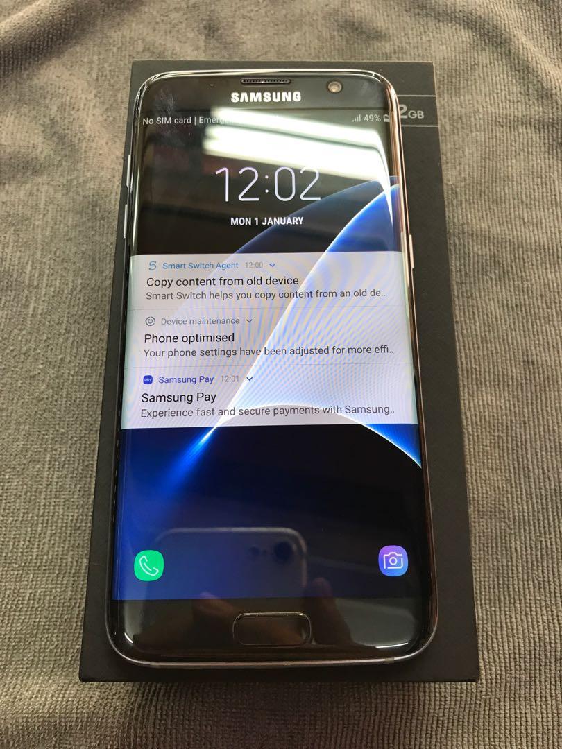 Samsung Galaxy S7edge black