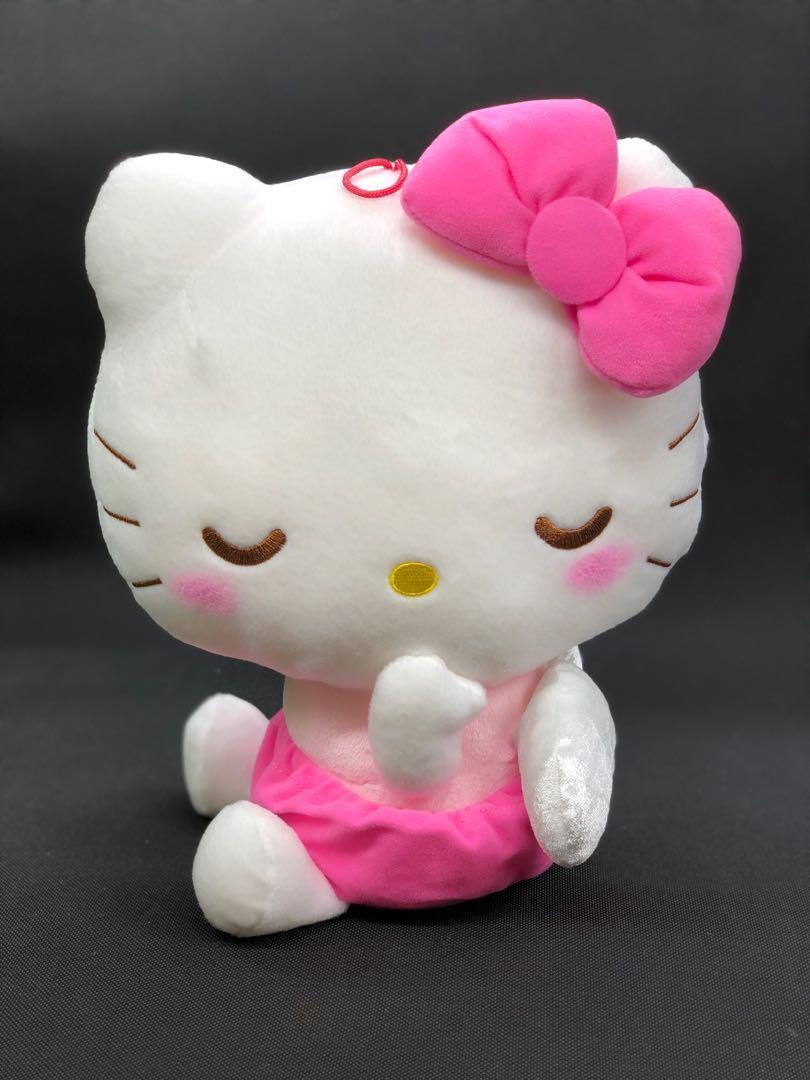Hello Kitty Sanrio New Stuffed Toy Plush Angel S size Japan Free Shipping