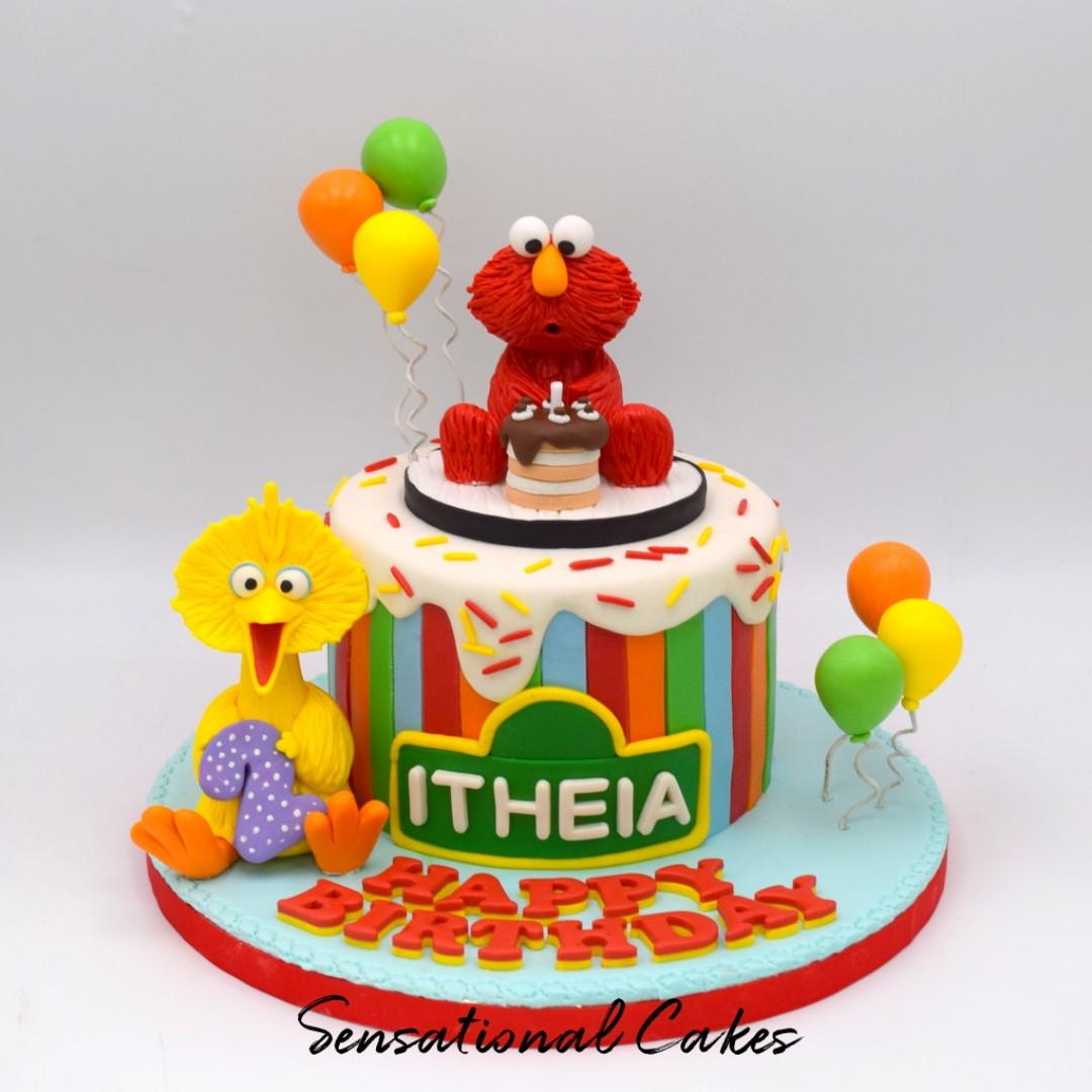 Miraculous Baby Bird And Red Monster Baby 1St Birthday Cake Colorful 3D Personalised Birthday Cards Epsylily Jamesorg