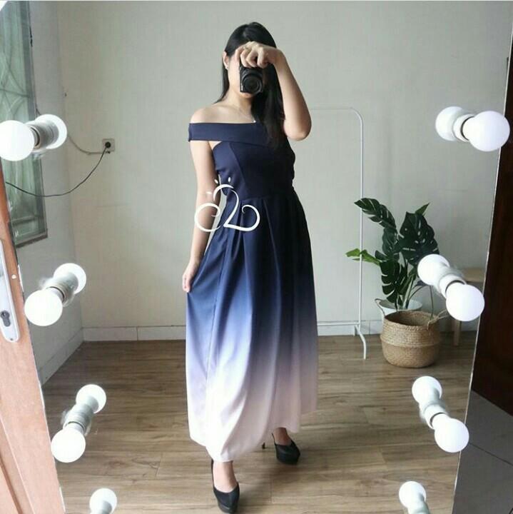 single ombre dress