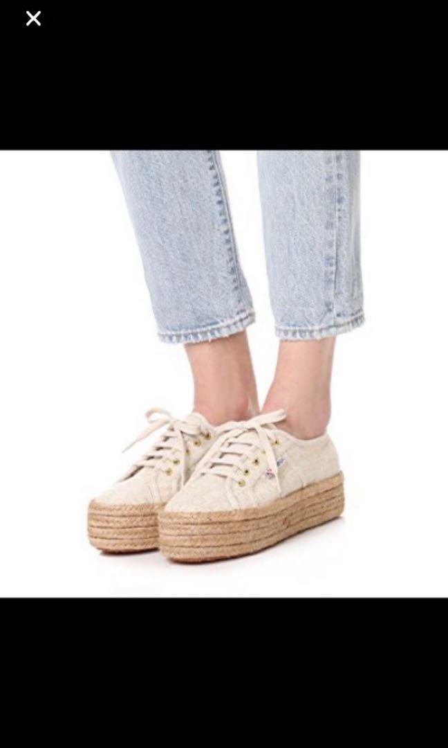 3da48c1a8 Superga 2790 platform espadrille, Women's Fashion, Shoes, Sneakers on  Carousell