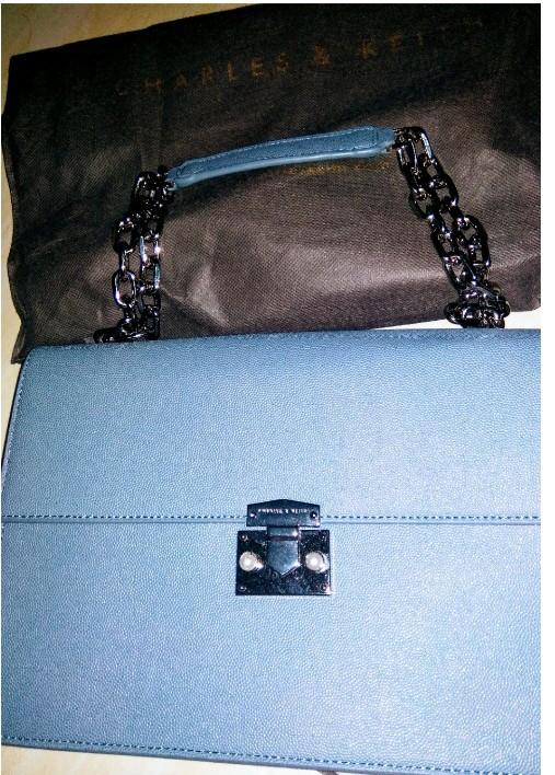 Tas Charles and Keith Blue Colour