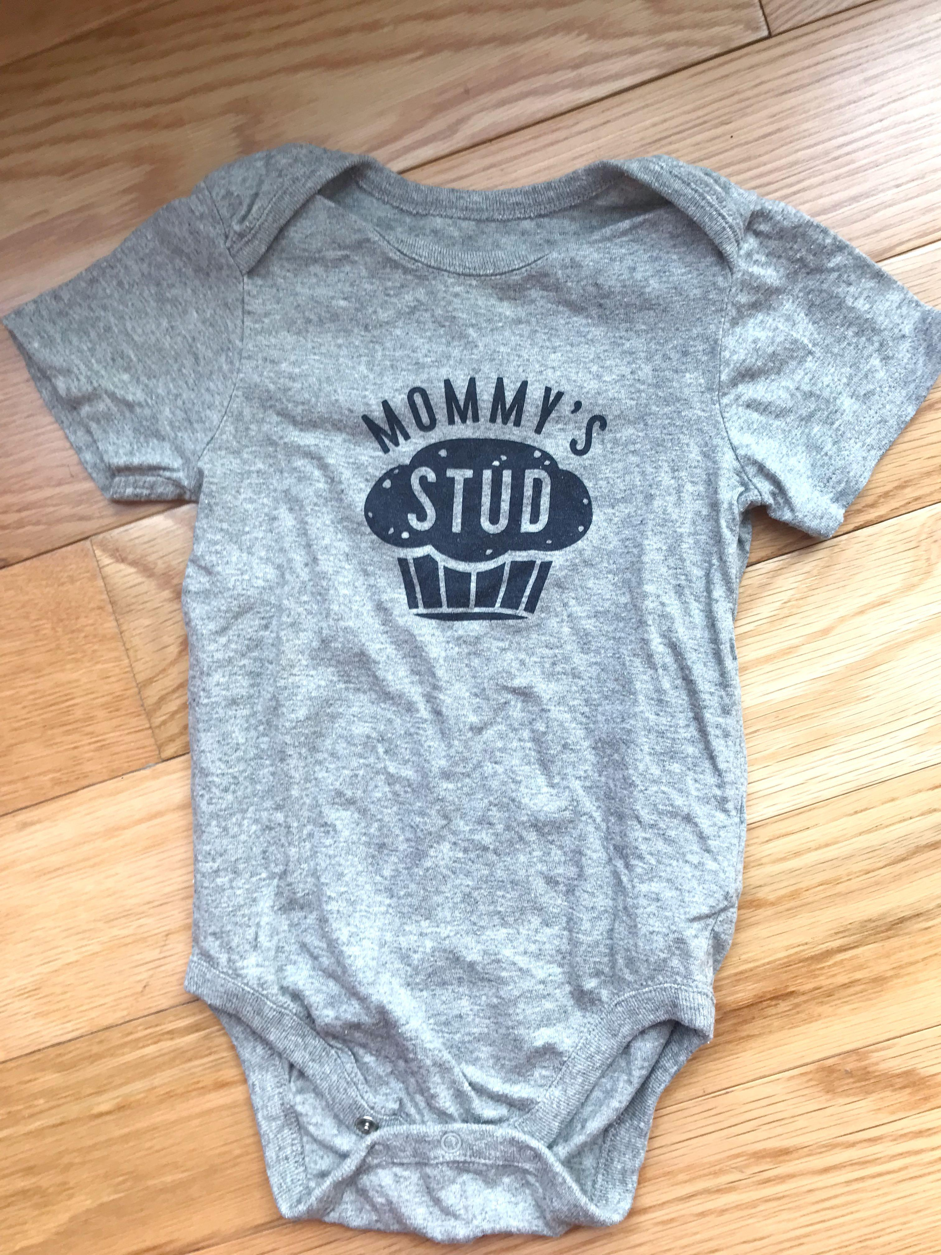 The Children's Place Mom's Stud Muffin Bodysuit