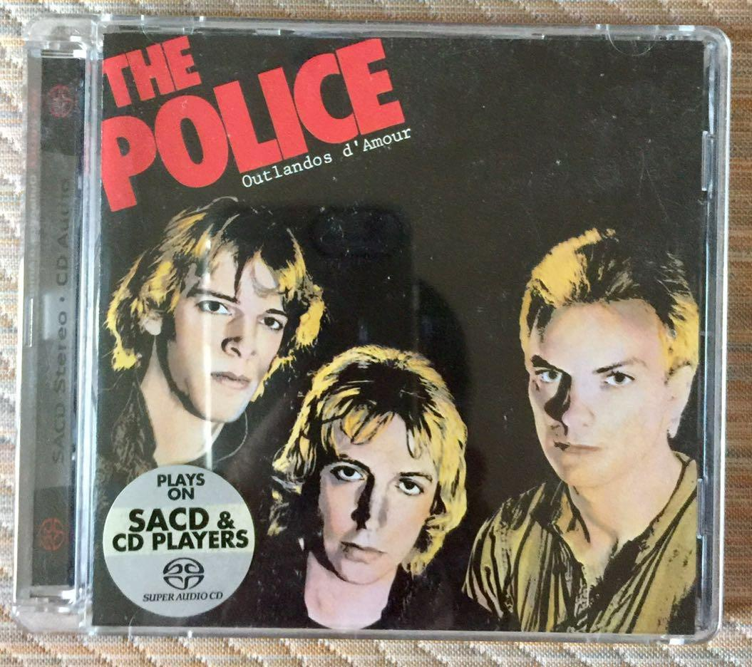 THE POLICE, OUTLANDOS D'AMOUR, HYBRID SACD, Music & Media