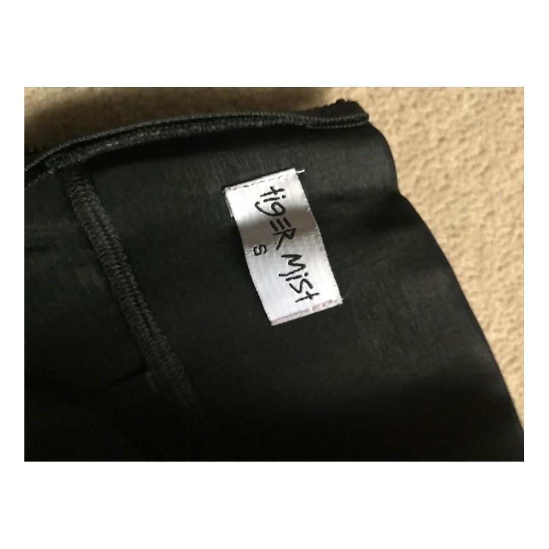 Tigermist Shiny tight pants highwaisted zip at back