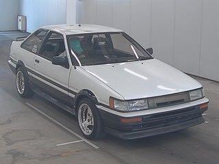 TOYOTA COROLLA LEVIN AE86 1986