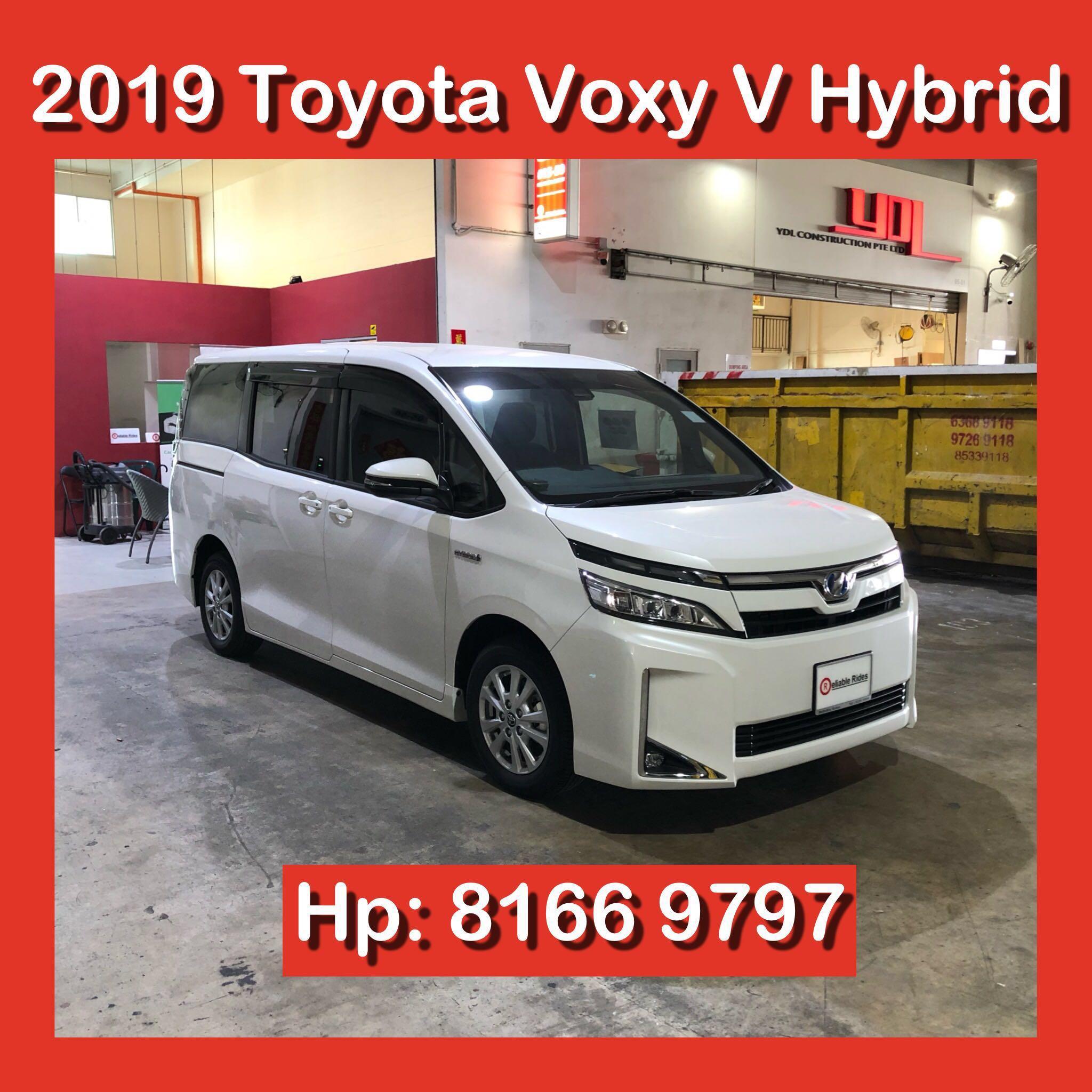 Toyota Voxy V Hybrid 2019 Brand New Full Size Mpv Rental