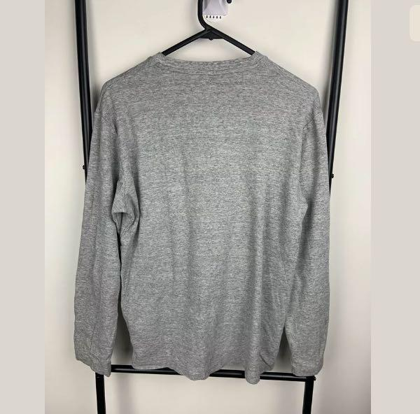 Uniqlo sz M grey men unisex jumper top shirt basic winter