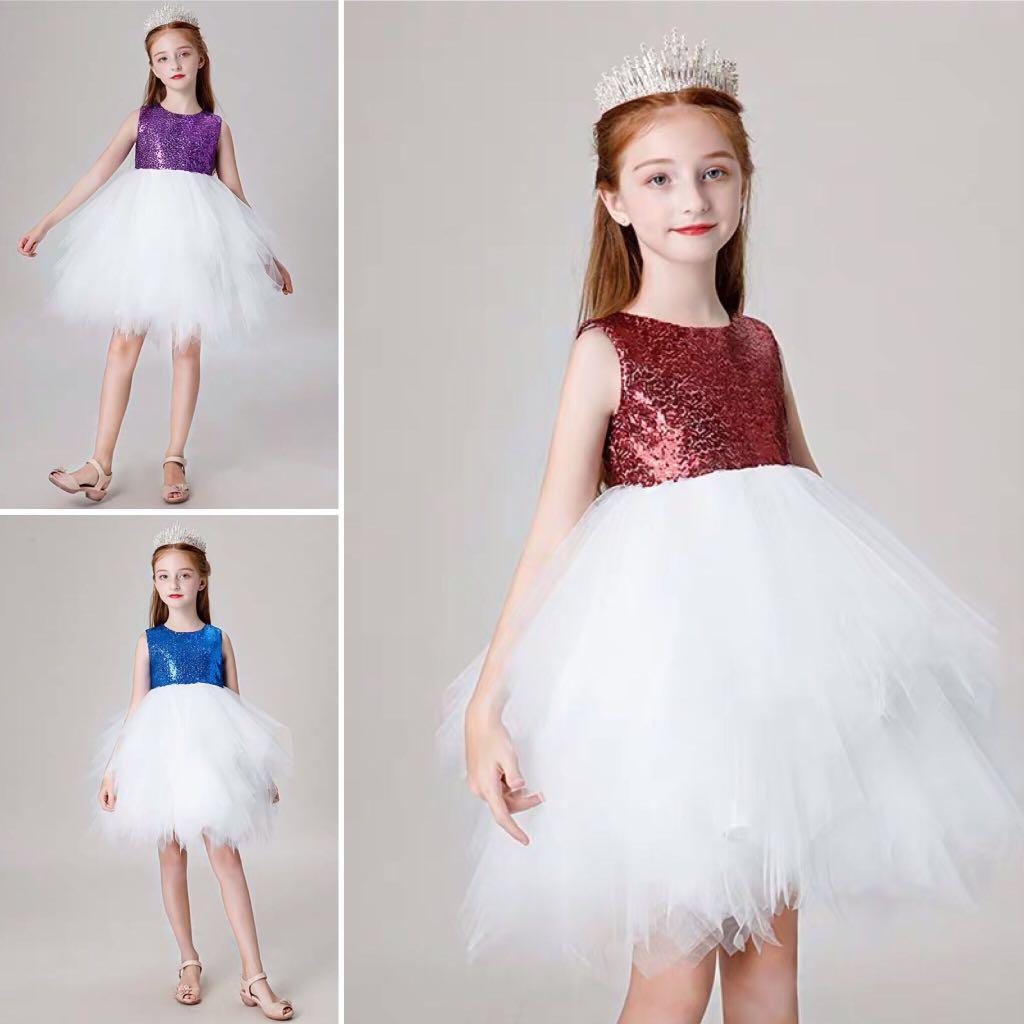 5f24ce2bd2c5e Wedding Flower Girl Dress, Babies & Kids, Girls' Apparel, 4 to 7 ...