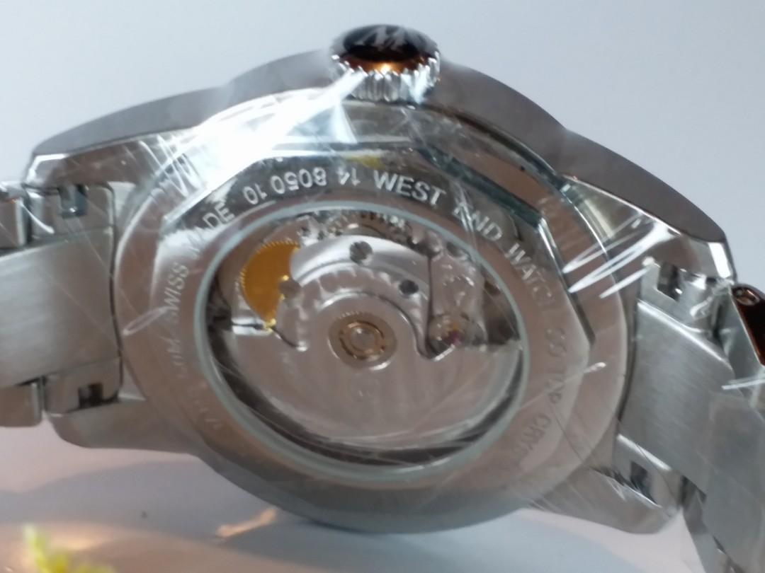 WEST END WATCH 瓦斯針~ 瑞士製造 automatic 機械自動~約40 mm, 全新 Full Set
