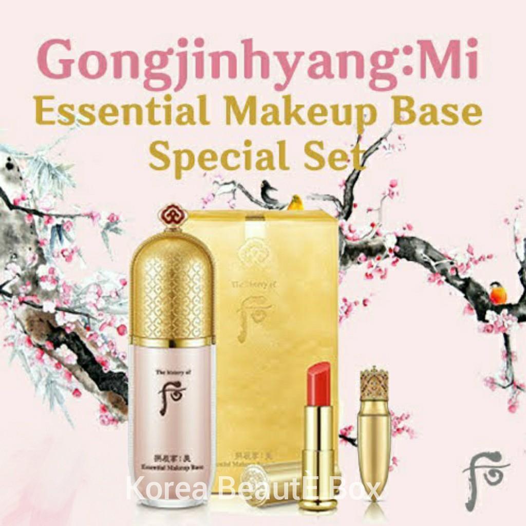 WHOO  Gongjinhyang:Mi Essential Base Set