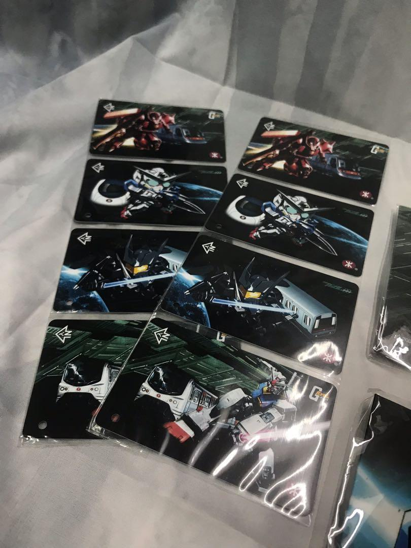 高達x港鐵 Gundam x MTR 紀念套票