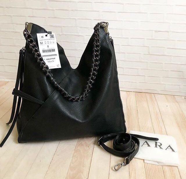 Zara Chain Bucket Bag